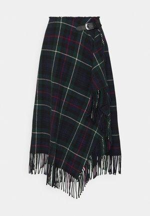 LEONNA PENCIL - A-line skirt -  navy/multi