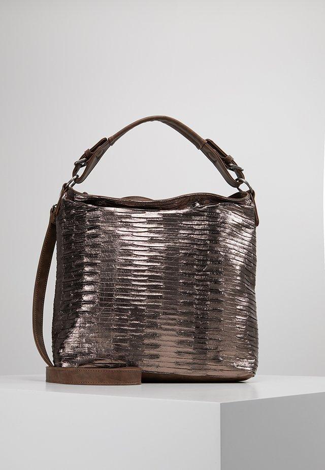 IDA EAGLE - Handbag - dark bronze