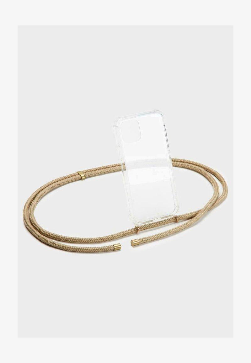 Phonelace - Phone case - beige/gold