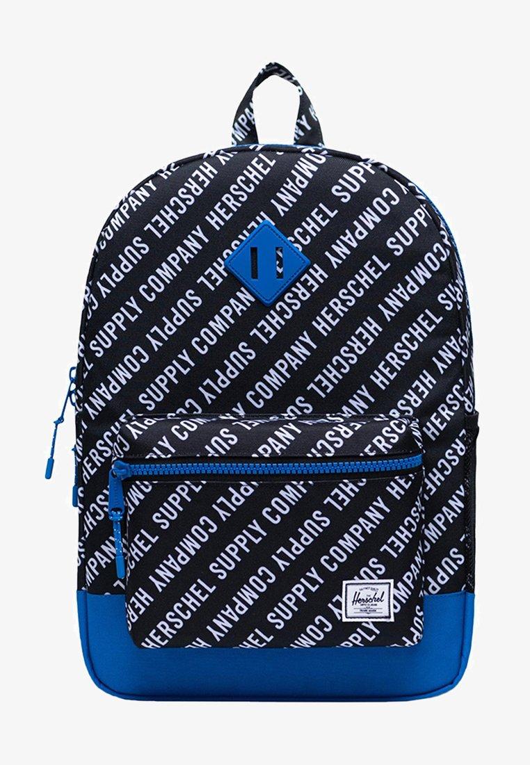 Herschel - School bag - roll call black/white/lapis blue