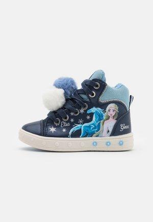 DISNEY FROZEN ELSA JUNIOR SKYLIN GIRL - Sneakers hoog - navy/sky