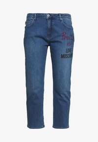Love Moschino - Jean boyfriend - denim - 3
