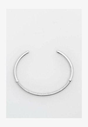 MIT TEXTUR  - Bracelet - metallic grey
