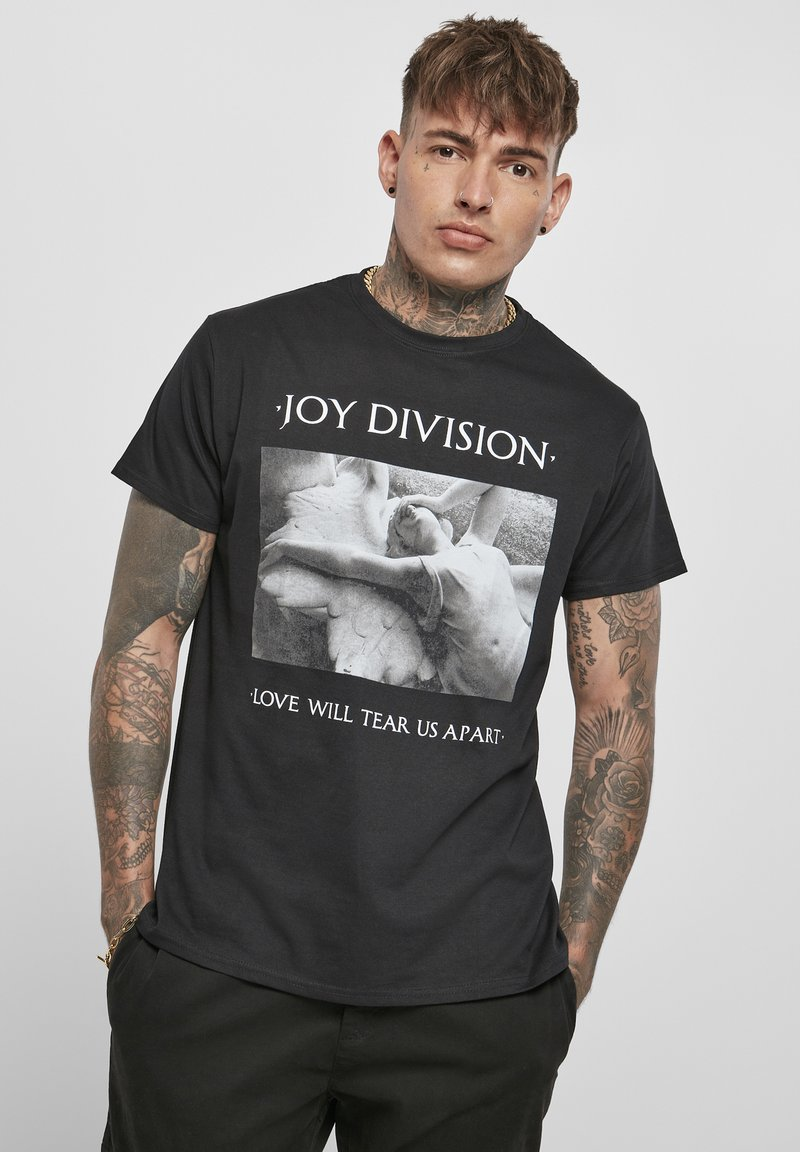 Mister Tee - HERREN JOY DIVISION TEAR US APART - Print T-shirt - black