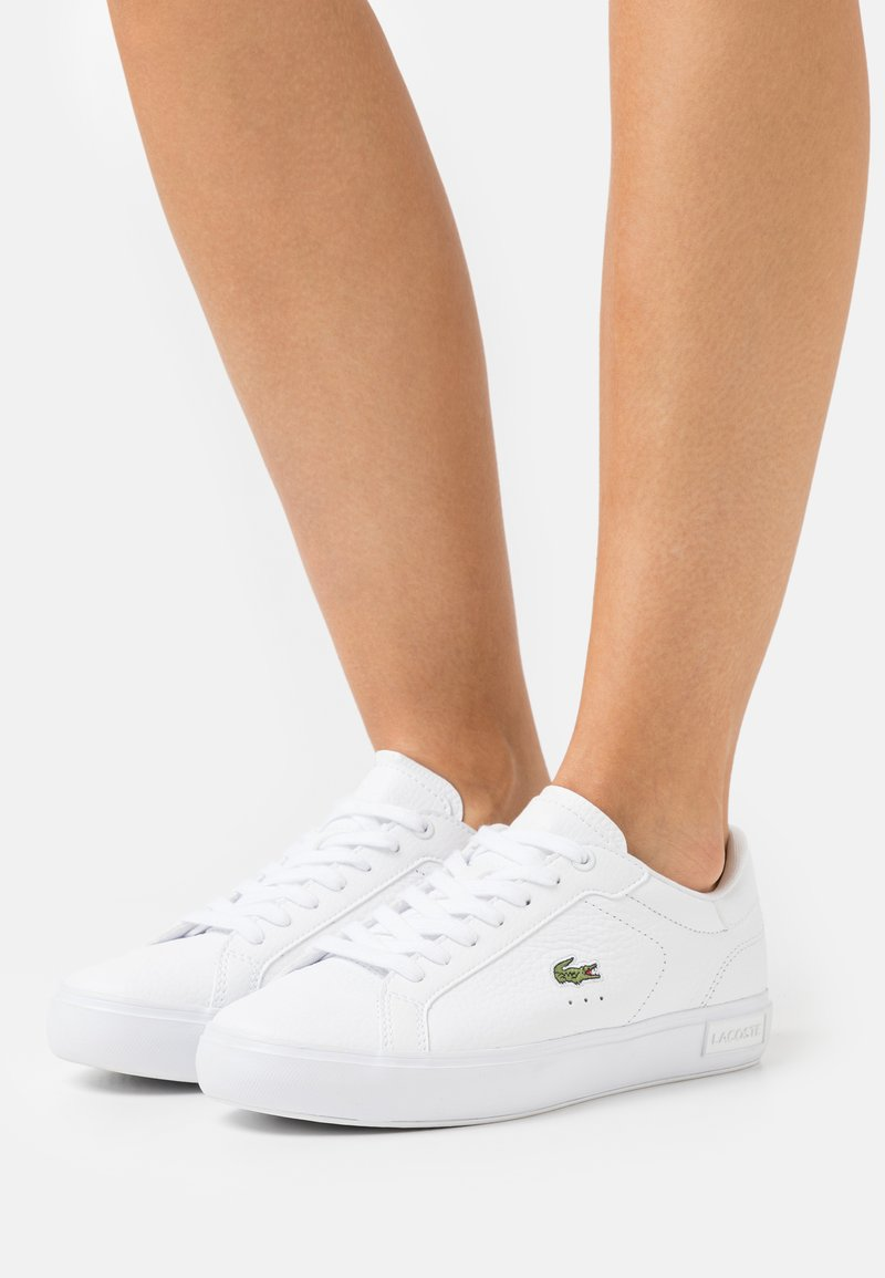 Lacoste - POWERCOURT - Baskets basses - white