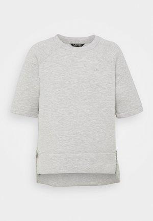 MODERN KNIT  - T-shirt basic - pearl grey heather