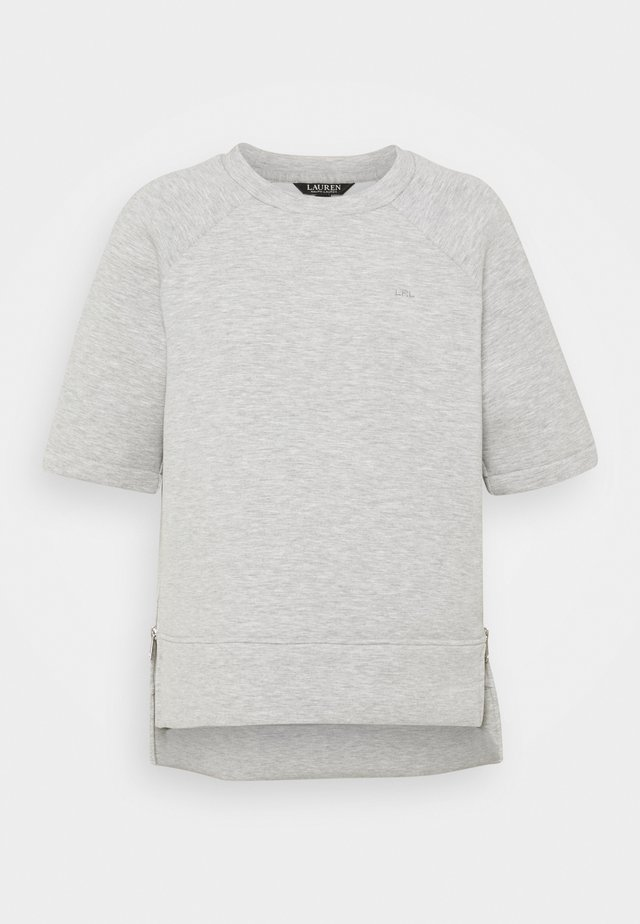 MODERN KNIT  - T-shirt basique - pearl grey heather