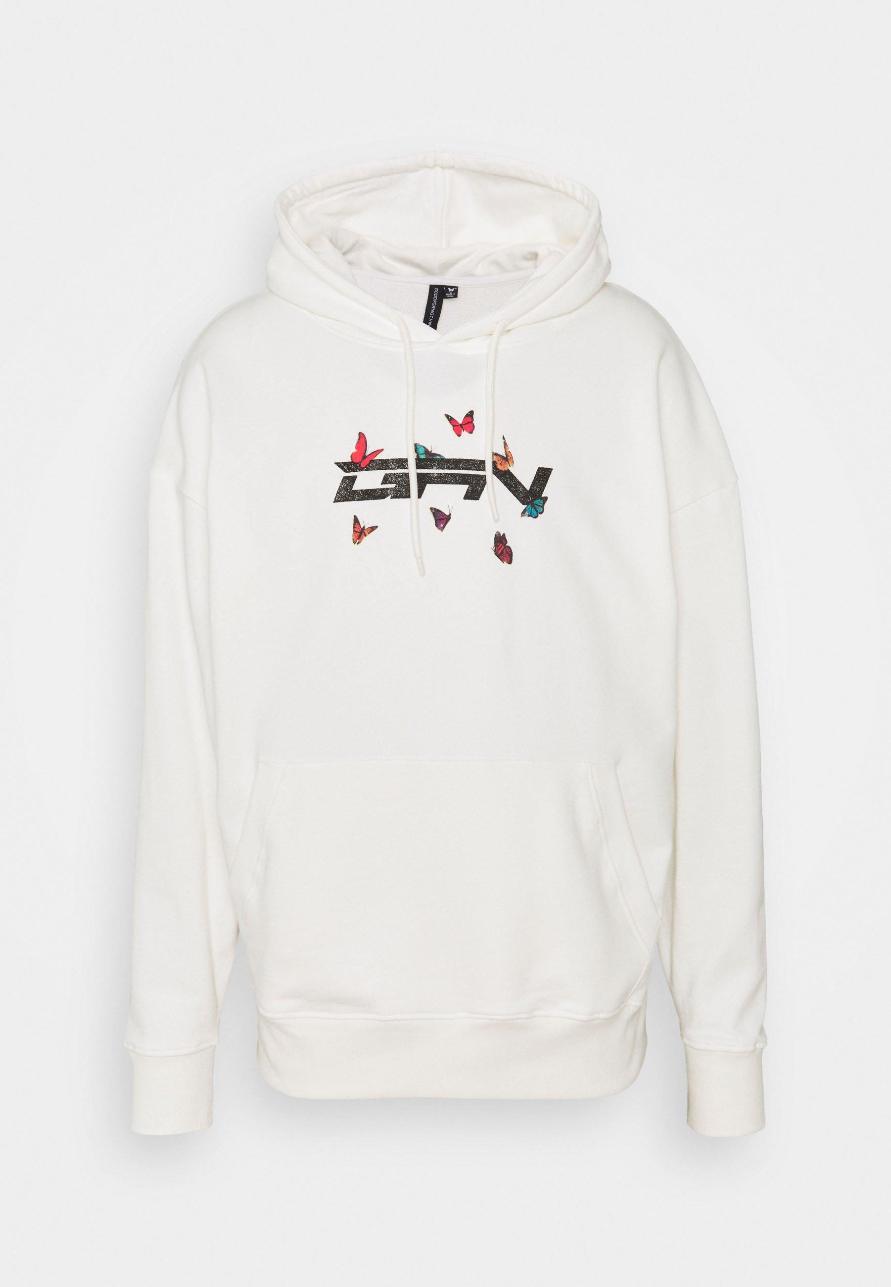 Women OVERSIZED BUTTERFLY HOOD - Sweatshirt