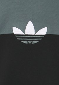 adidas Originals - SLICE CREW - Sweatshirt - black/blue oxide - 2