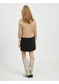 Object - A-line skirt - black - 2