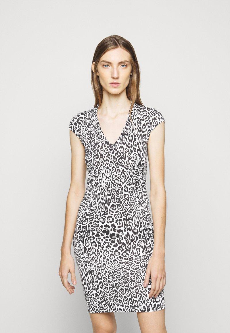 Just Cavalli - Pouzdrové šaty - black