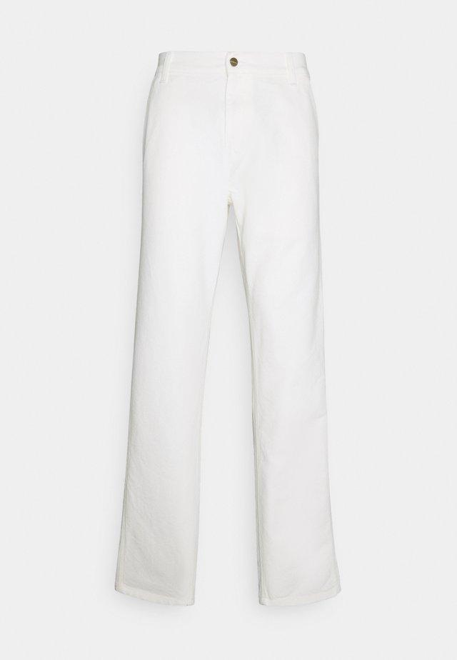 RUCK SINGLE KNEE PANT DEARBORN - Pantaloni - wax rinsed
