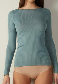 Intimissimi - Long sleeved top - acquamarina - 0