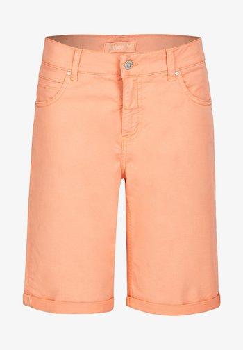 Denim shorts - hellrot