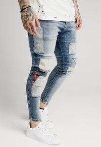 SIKSILK - LOW RISE FUSION - Jeans Skinny Fit - midstone - 4
