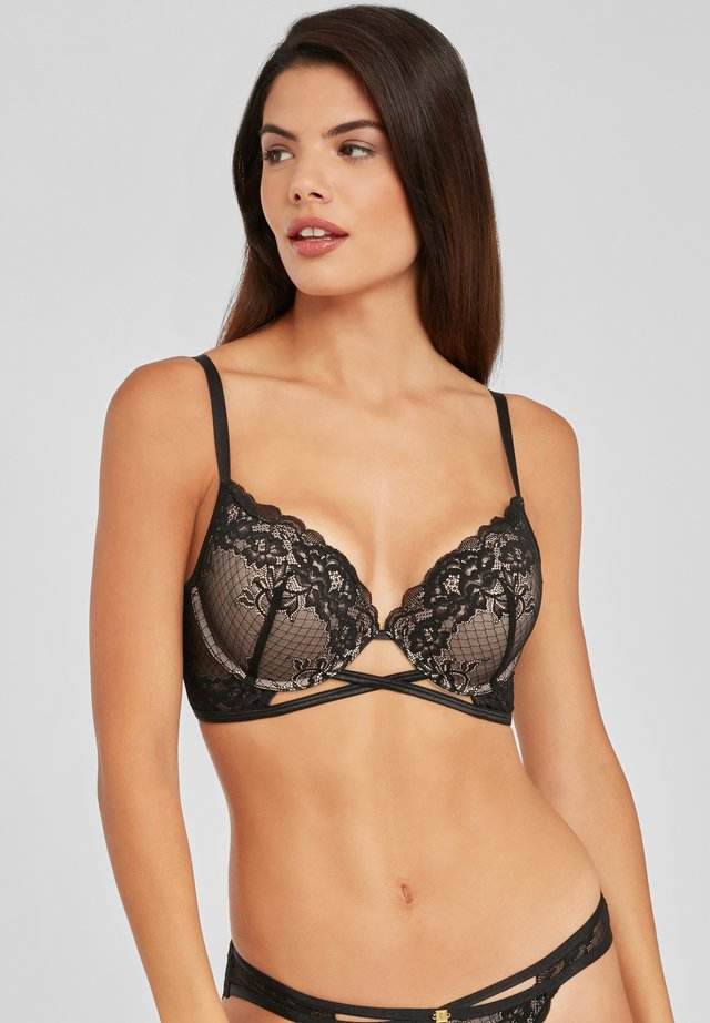 Push-up bra - schwarz