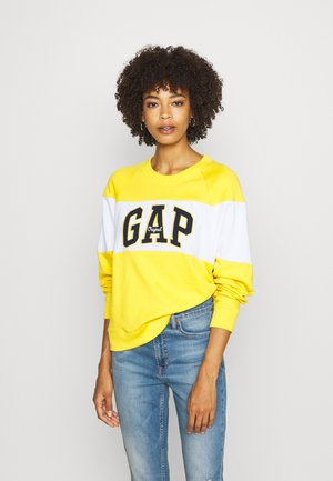 ORIGINAL CREW - Sweatshirt - rainslicker yellow