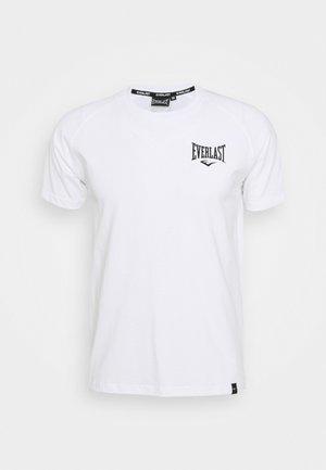 RAGLAN TEE SHAWNEE - Camiseta estampada - white