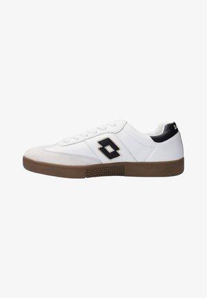 Sneakers laag - weissschwarz