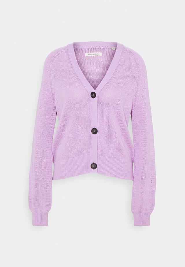 CARDIGAN LONGSLEEVE  - Kardigan - breezy lilac