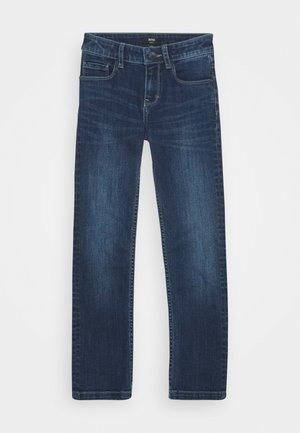 TROUSERS - Slim fit jeans - stone pulverisation