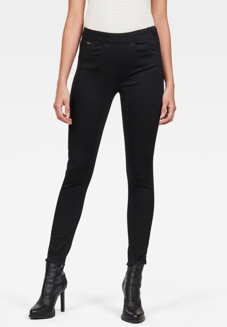 G-Star - HIGH JEGGING ANKLE - Jeans Skinny Fit - black