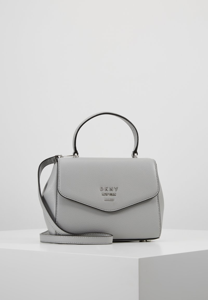 DKNY - WHITNEY SATCHEL - Across body bag - grey melange