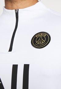 Nike Performance - PARIS ST GERMAIN DRY DRIL CL - Club wear - white/bordeaux/black/truly gold - 5