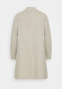 Dorothy Perkins Curve - COLLARLESS UNLINED HERRINGBONE - Manteau classique - oatmeal - 1