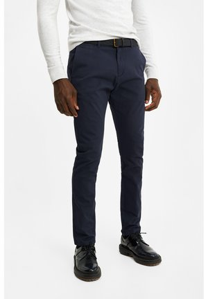 SKINNY FIT  - Chino - dark blue