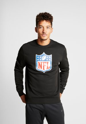 NFL SHIELD CREWNECK - Sweatshirt - black