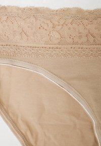 Marks & Spencer London - HIGH LEG 5 PACK - Kalhotky - nude - 3