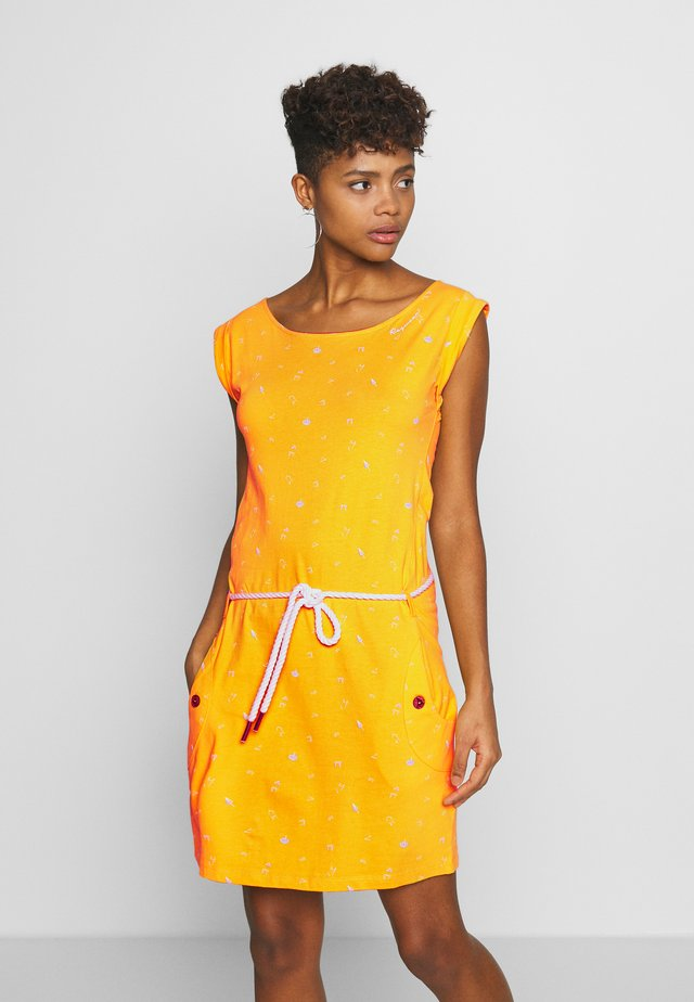 TAG - Jersey dress - yellow