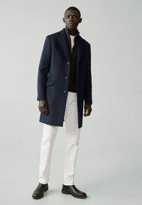 Mango - MICHIGAN-I - Classic coat - bleu - 1