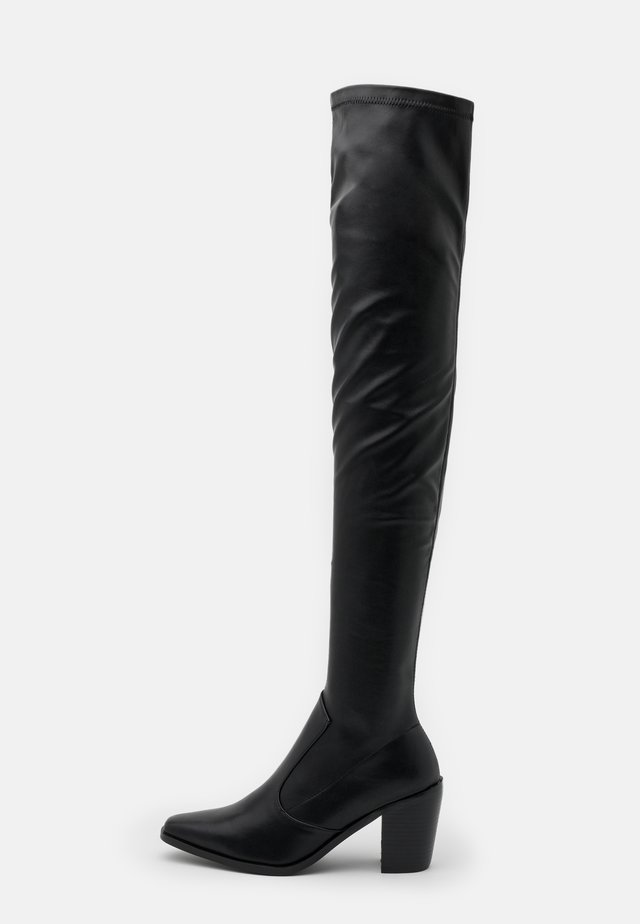 ELMO - Høye støvler - black