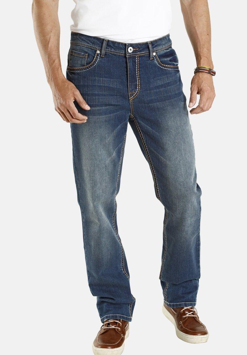 Jan Vanderstorm - TIEFBUNDJEANS JANI - Relaxed fit jeans - blau