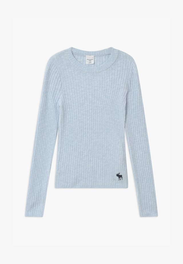 COZY SLIM - Jumper - light blue solid