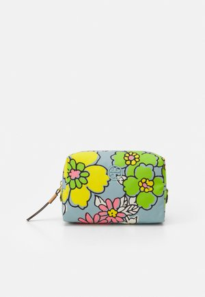 PIPER PRINTED SMALL COSMETIC CASE - Wash bag - blue