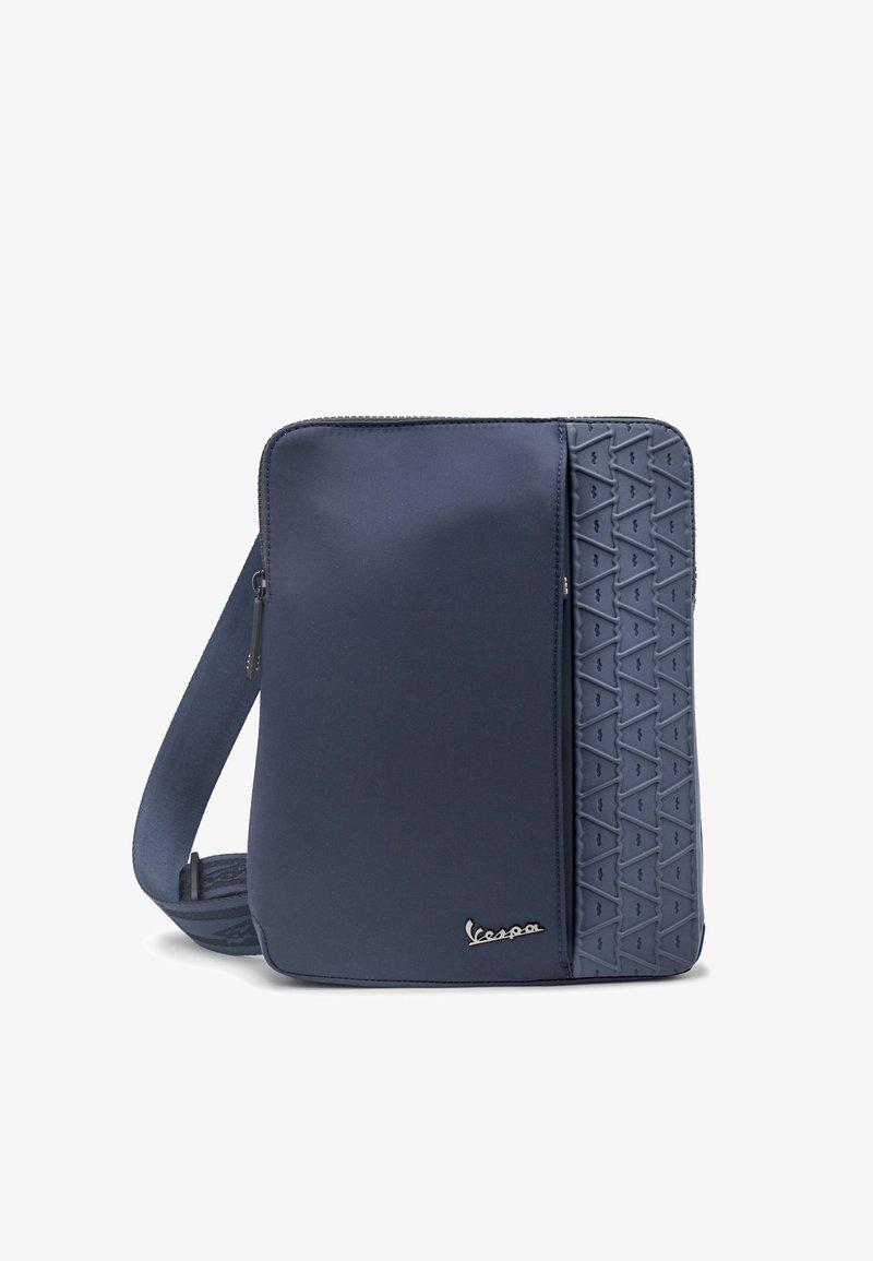 Vespa - Across body bag - blu scuro