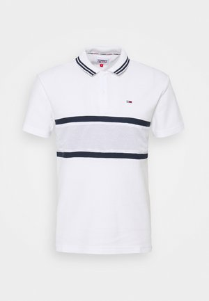MIX MEDIA BAND - Polo shirt - white