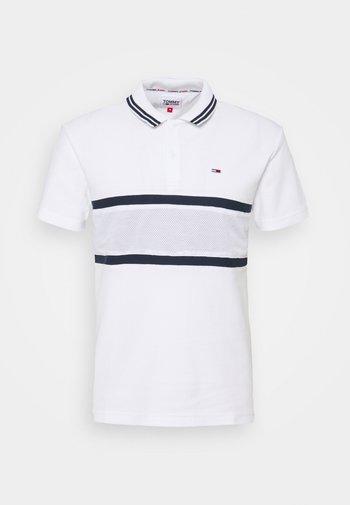 MIX MEDIA BAND - Poloshirt - white