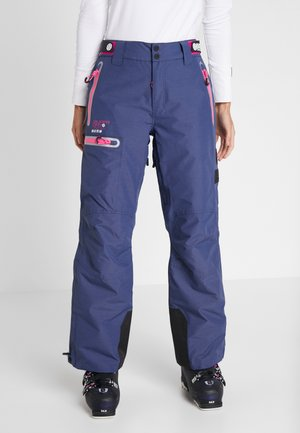 SLALOM SLICE SKI PANT - Snow pants - vortex navy space dye
