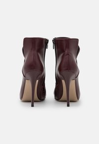 Trendyol - High heeled ankle boots - burgundy - 2