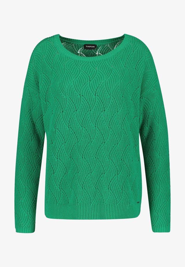 Trui - vibrant green