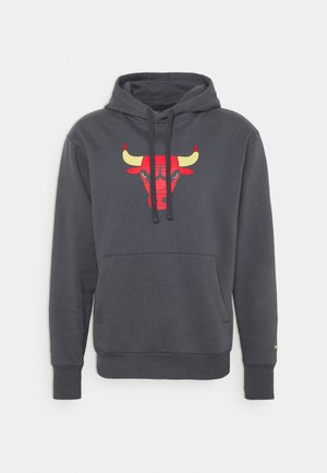 NBA CHICAGO BULLS CITY EDITION ESSENTIAL HOODIE - Club wear - anthracite/university red