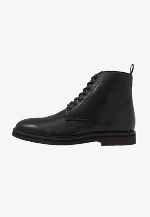 LACE UP BOOT - Stivaletti stringati - black