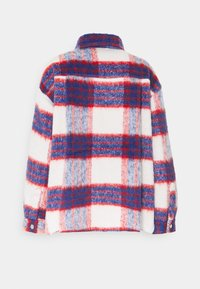 Gina Tricot - FANNY  JACKET - Summer jacket - red/blue - 1