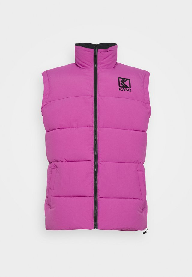 PUFFER VEST UNISEX  - Bodywarmer - light purple