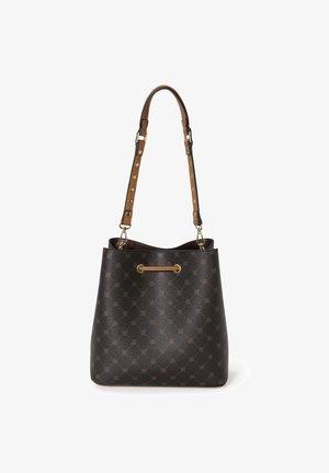 HANDTASCHE - Handbag - dunkelbraun