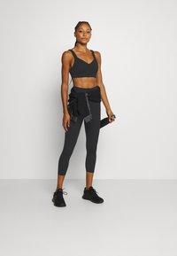 Cotton On Body - SCALLOP HEM 7/8  - Tights - black - 1